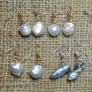 Orecchini perle barocche