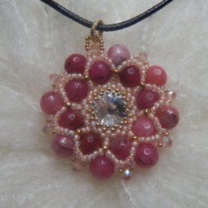 Fiore agata rosa